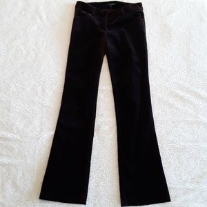 Theory | Brown Velvet Bootcut Pants